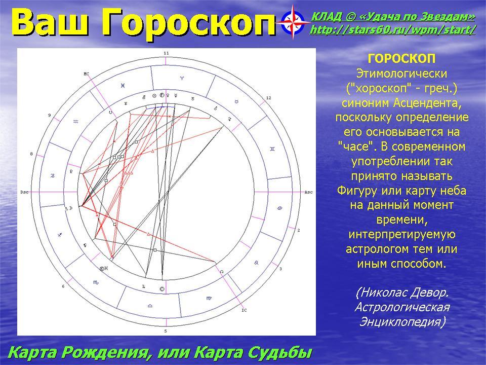 гороскоп по знакомству с