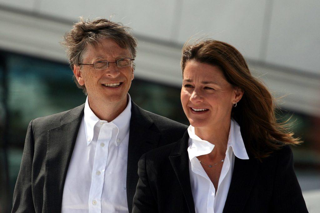 Билл Гейтс и Мелинда Гейтс в июне 2009 года